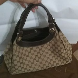 Authentic Gucci Charmy Hobo Bag